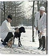 Demikhov's Laboratory Dogs, 1967 Acrylic Print