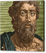 Demosthenes, Ancient Greek Orator Acrylic Print by Photo Researchers