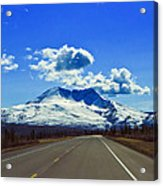 Denali Highway Acrylic Print