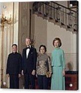 Deng Xiaoping Jimmy Carter Madame Zhuo Acrylic Print