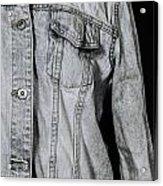 Denim Jacket Acrylic Print by Joana Kruse