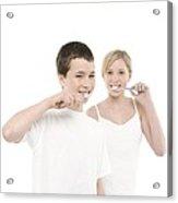Dental Hygiene Acrylic Print