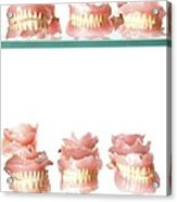Dental Moulds Acrylic Print
