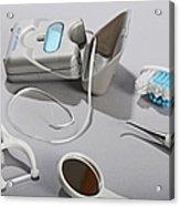 Dental Tollietres Acrylic Print