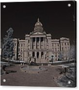 Denver Colorado Capital Acrylic Print