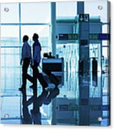 Departure Gate At The Airport Acrylic Print