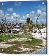 Deplorable Paradise Abode Acrylic Print