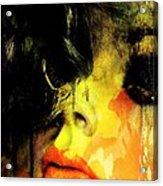 Depression Acrylic Print by David Taylor