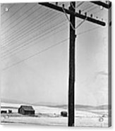 Depression Era Rural America Acrylic Print