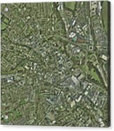 Derby, Uk, Aerial Image Acrylic Print