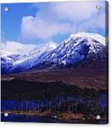 Derryclare Lough, Twelve Bens Acrylic Print by The Irish Image Collection
