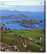 Derrynane Harbour, Caherdaniel, Ring Of Acrylic Print