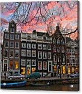 Desafinado-prinsengracht. Amsterdam Acrylic Print