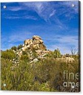 Desert Boulders Acrylic Print