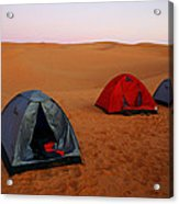 Desert Camping Acrylic Print