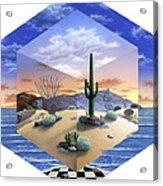 Desert On My Mind 2 Acrylic Print