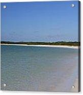 Deserted Cuban Beach Acrylic Print