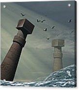 Destruction Of Atlantis Acrylic Print