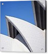 Detail Of The Roof Of The Sydney Opera Acrylic Print