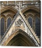 Detail Of Westminster Abbey Acrylic Print