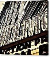 Detroit Fillmore Theatre Acrylic Print