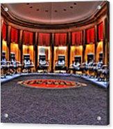 Detroit Pistons Locker Room Auburn Hills Mi Acrylic Print