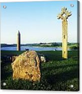 Devenish Island, Co Fermanagh, Ireland Acrylic Print