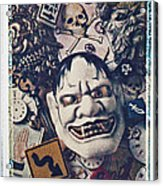 Devil Mask Acrylic Print