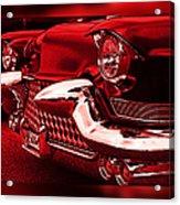 Devilish Hot Rod Acrylic Print