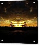 Devils At The Sky Acrylic Print
