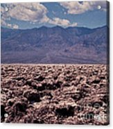 Devil's Golf Course At Death Valley Acrylic Print