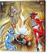 Devil's Inferno Acrylic Print