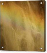 Devil's Rainbow Acrylic Print