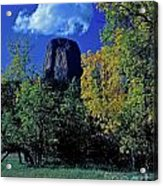 Devil's Tower Autumn Acrylic Print