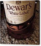 Dewars White Label Acrylic Print