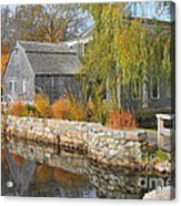 Dexter's Grist Mill Acrylic Print