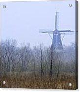 Dezwaan Windmill In Holland Michigan No. 105 Acrylic Print