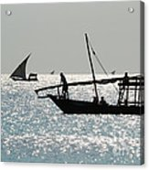 Dhows Acrylic Print