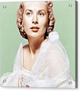 Dial M For Murder, Grace Kelly, 1954 Acrylic Print