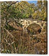 Diamond Creek Double Arch Bridge Acrylic Print