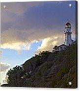 Diamond Head Lighthouse 1 Acrylic Print