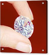 Diamond Acrylic Print by Lawrence Lawry