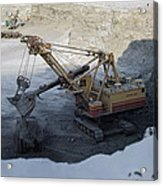 Diamond Mining, Sakha Acrylic Print