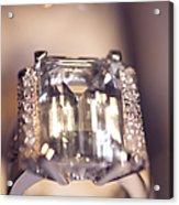 Diamond Ring. Spirit Of Treasure Acrylic Print