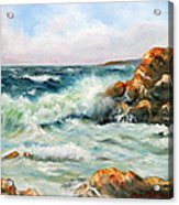 Diane's Cove Acrylic Print by Max Mckenzie