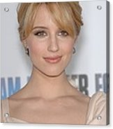Dianna Agron At Arrivals For I Am Acrylic Print by Everett