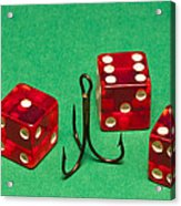 Dice Red Hook 1 A Acrylic Print