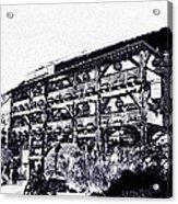 Dickens Inn Pub St Katherines Dock London Acrylic Print