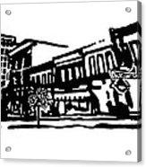 Dickson Street In Fayetteville Ar Acrylic Print