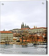 Die Moldau - Prague Acrylic Print